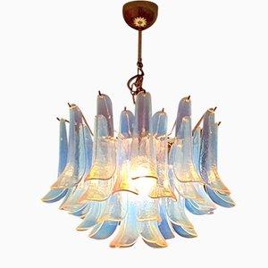 Lampada da soffitto in vetro di Murano di La Murrina, anni '70