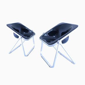 Mid-Century Plona Chairs by Giancarlo Piretti for Castelli / Anonima Castelli, Set of 2