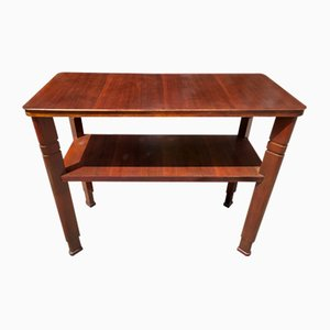 Italian Wooden Console Table, 1930s