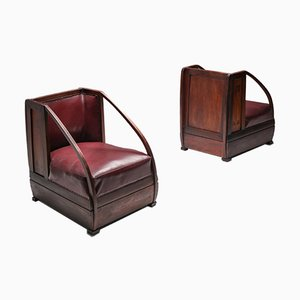 Antique Armchairs from Carlo and Piero Zen, 1910s, Set of 2