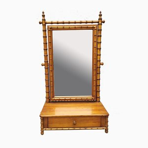 Antique Faux Bamboo Dressing Table