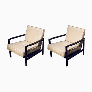 Vintage Cocktail Armchairs by Zenon Bączyk, 1960s, Set of 2