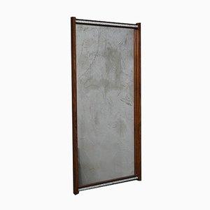 Large Scandinavian Rosewood Mirror, 1960s