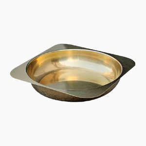 Italian Solid Brass Bowl, 1970s