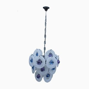 Pop Art Style Murano Glass Ceiling Lamp, 1970s
