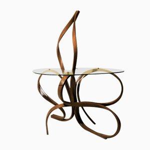 Table d'Entrée Foyer Rosace par Raka Studio