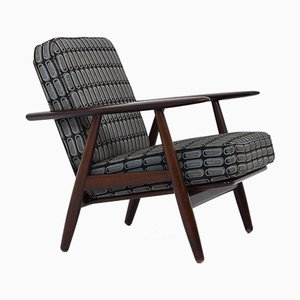 Model GE-240 Cigar Armchair by Hans J. Wegner for Getama, 1960s