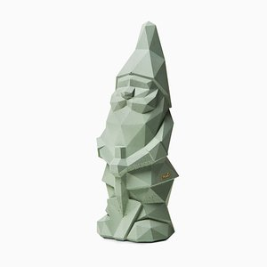 Nino Garden Gnome in Green by Pellegrino Cucciniello for Plato Design