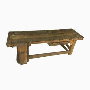 Antiker italienischer Arbeitstisch aus Holz von Officina di Ricerca, 1900er