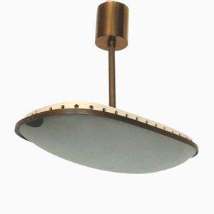 Mid-Century Deckenlampe von Fontana Arte, 1950er