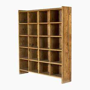 Swedish Modern Pinewood Bookcase, 1940s
