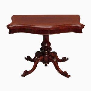 Viktorianischer Englischer Palisander Spieltisch, 1850er