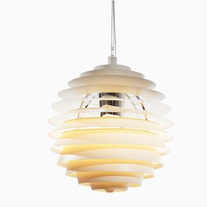 Lampe à Suspension Louvre par Poul Henningsen pour Louis Poulsen, 1990s