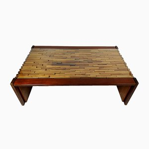 Large Palisander Coffee Table from Percival Lafer, 1960s