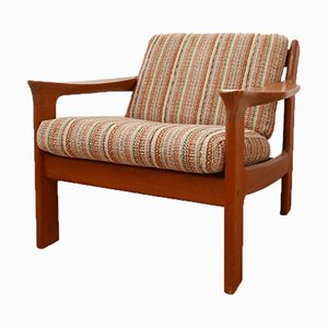 Mid-Century Scandinavian Teak Easy Chair, 1960s