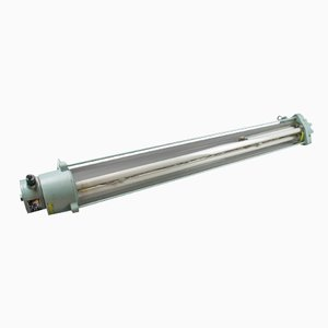 Fluorescent Light Tube with Thick Glass by Leuchtenbau Wittenberg