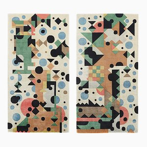 The Dancer And The Dog Rug by Kostas Neofitidis for KOTA Collections, 2013