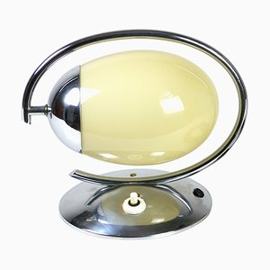 Functionalism Chrome Table Lamp, 1920s