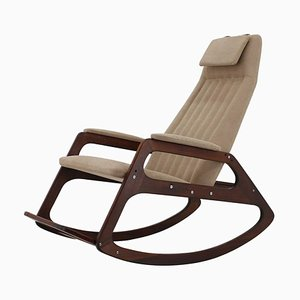 Mid-Century Rocking Chair from ULUV Krásná jizba, 1960s