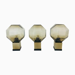 Modular Wall or Ceiling Lights by Motoko Ishii for Staff, 1970s, Set of 3
