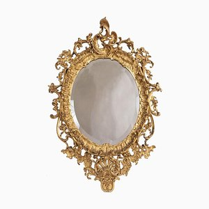 19th Century Louis XV Style Mirror in Giltwood