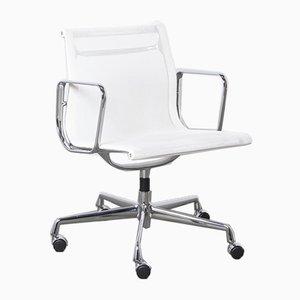 Weißer EA108 Alu Chair von Charles & Ray Eames für Vitra, 2012