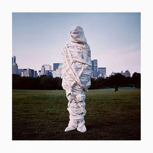 Christo, Central Park, New York Cibachrome by Annie Leibovitz, 1981