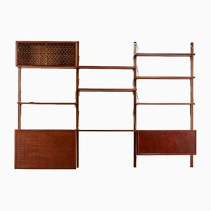 Vintage Royal System Wall Unit by Poul Cadovius for Cado, Denmark, 1950s