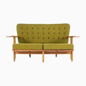 Sofa von Guillerme et Chambron für Votre Maison, 1960er