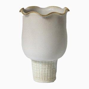 Vase Modèle Farsta en Grès par Wilhelm Kåge pour Gustavsberg, 1940s