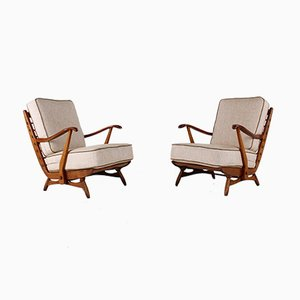 Lounge Chairs from De Ster Gelderland, 1950s, Set of 2