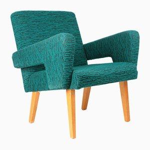 Blaugrüner Sessel von Jitona, 1960er