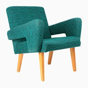 Blue Green Armchair from Jitona, 1960s