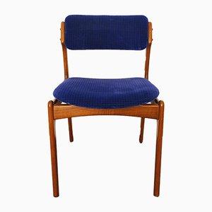 Dänische Teak Esszimmerstühle von Erik Buch, 1960er, 5er Set