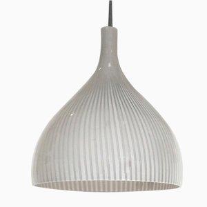 Mid-Century Deckenlampe von Massimo und Lella Vignelli für Venini, 1950er