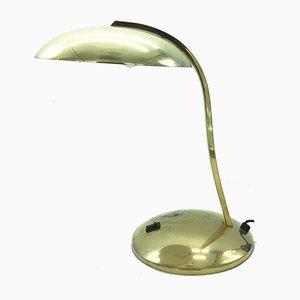 Messing Tischlampe im Bauhaus Stil, 1950er