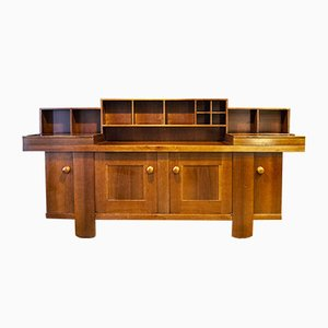 Italian Walnut Sideboard by Silvio Coppola for Bernini, 1960s