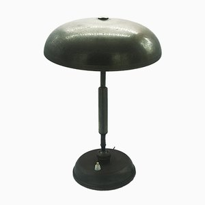 Lámpara de mesa vintage de latón de Giovanni Michelucci para Lariolux, años 40