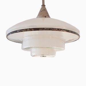 Lampada da soffitto modello P4 di Otto Müller per Sistrah, anni '30