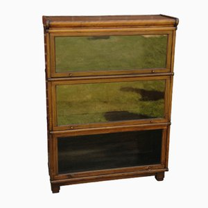 Antique 3-Tier Glazed Barristers Shelves from Globe Wernicke