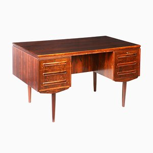 Mid-Century Scandinavian Rosewood Desk