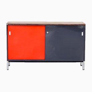 Metall und Wengeholz Furnier Sideboard von Mauser Werke Waldeck, 1970er