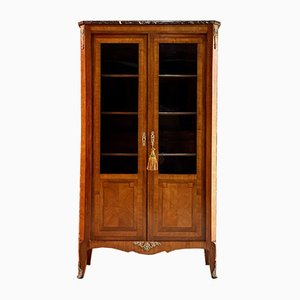Antique French Kingwood Bookcase, 1870s