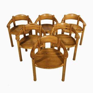 Beistellstühle von Rainer Daumiller für Hirtshals Sawmills, Sweden, 1960er, 6er Set