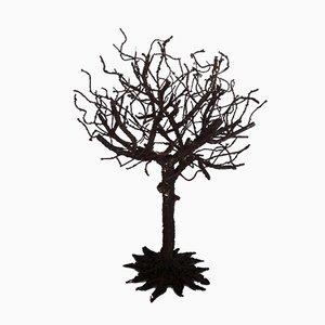 Brutalistische Vintage Baumskulptur