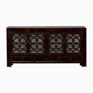 Antikes getäfeltes chinesisches Sideboard, 1920er