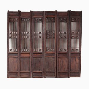 Antique Room Dividers, Set of 6