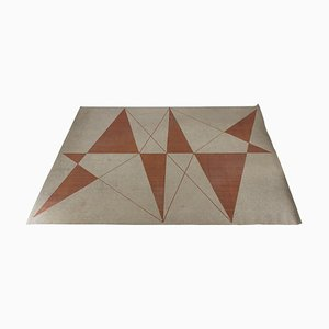 Geometric Carpet Superior from Slovena, 1960s
