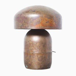 Rote Kupfer Tischlampe