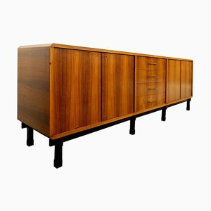 Walnut Sideboard by Gianfranco Frattini, 1950s